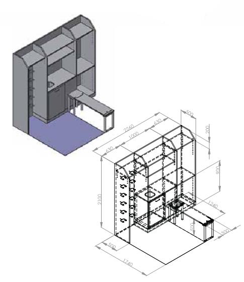 schleusenm bel. Black Bedroom Furniture Sets. Home Design Ideas